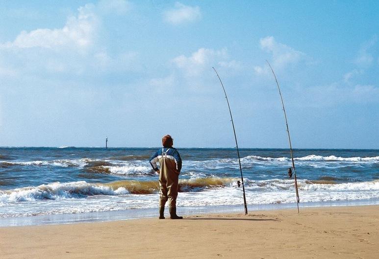 Apartamento de vacaciones en el parque de vacaciones Landal Ameland State - ubicado directamente en la playa, Nes, Playa