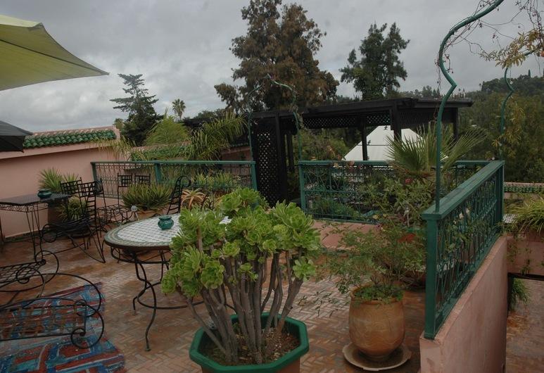 Riad Lahboul, Meknes, Taras/patio