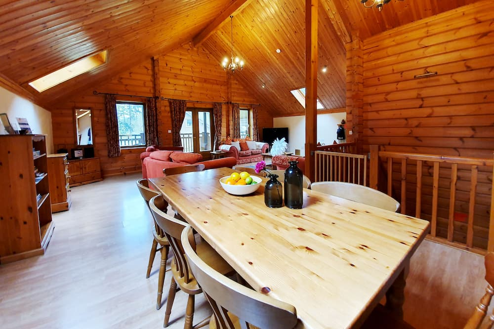 Chalet Deluks, 3 kamar tidur, sauna - Area Keluarga
