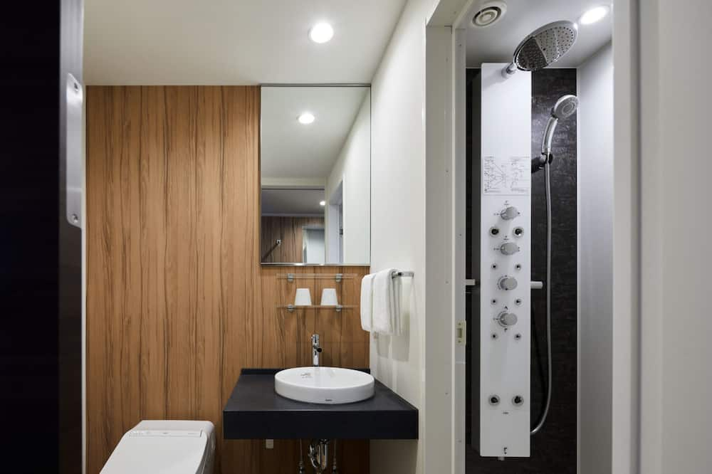 Connecting Room with shower booth - Bathroom