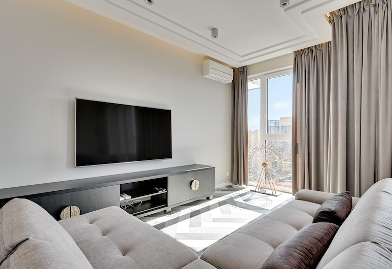 Flats For Rent - Jelitkowo Tre Mare, Gdansk, Apartmán (Jelitkowska 73/12), Obývačka
