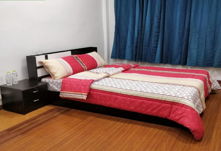 R-One 24/7 Hostel, Bangkok, Standard Double Room, Bilik Tamu