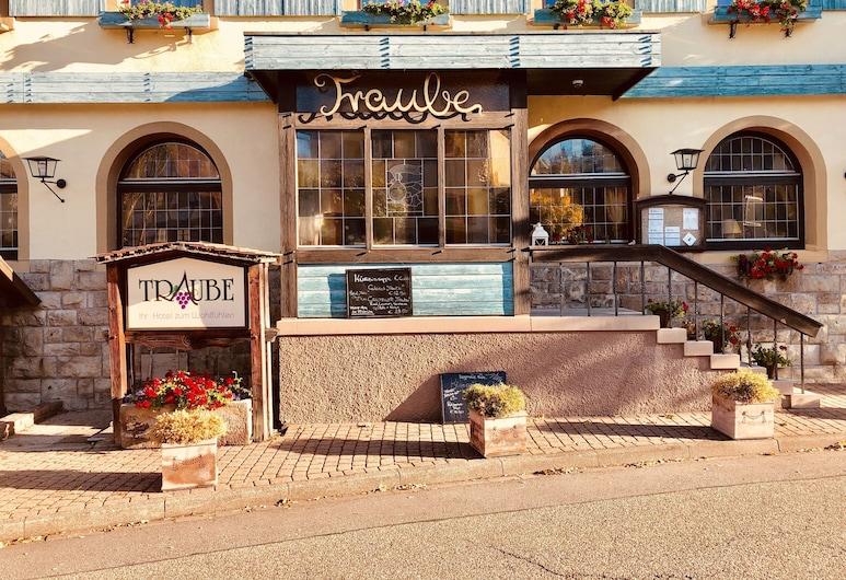 Hotel Traube, Μπάντεν-Μπάντεν, Είσοδος ξενοδοχείου