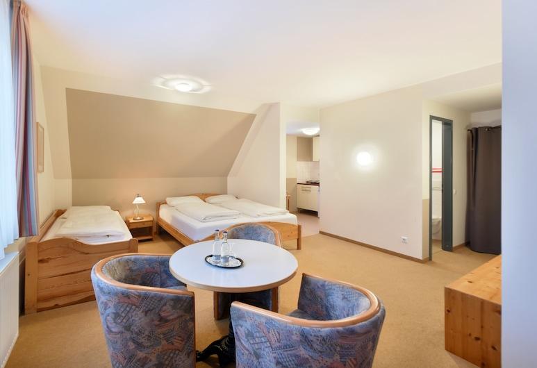 梅恩酒店, 漢堡, 家庭公寓, 客房