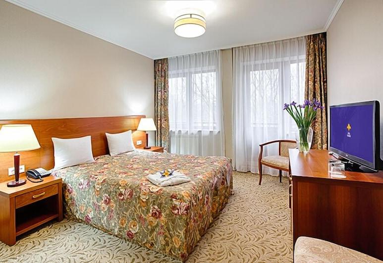 Iris hotel, Almaty, Habitación doble de uso individual, 1 cama de matrimonio grande, no fumadores, Habitación