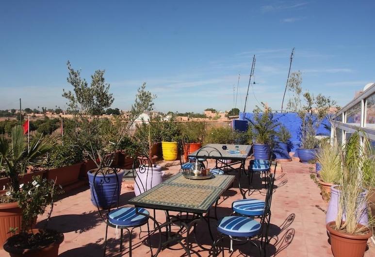 Riad Basim, Marrakech, Terrasse/patio