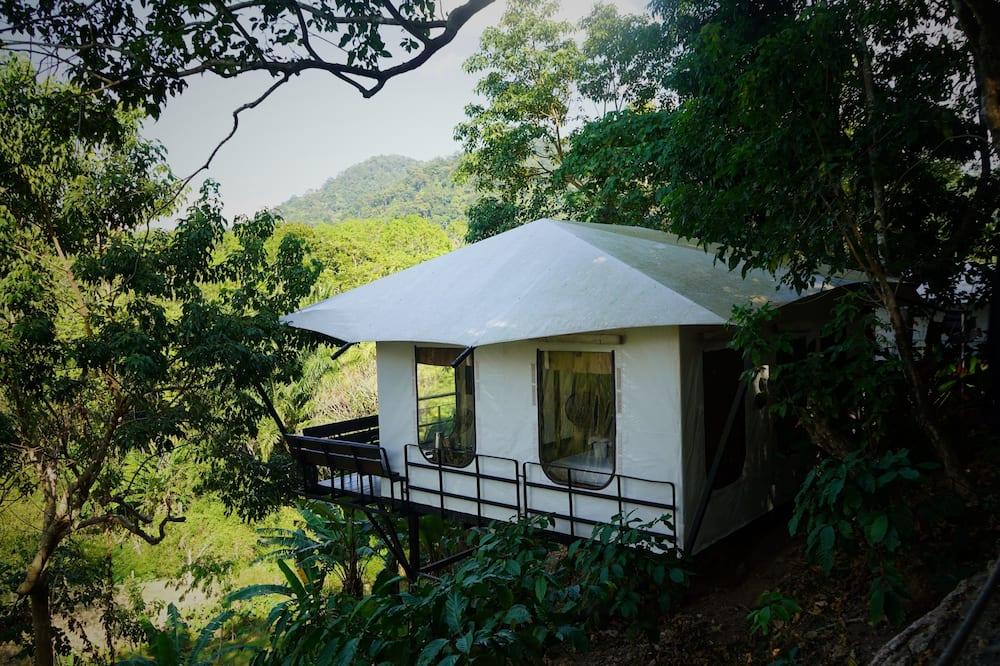 Eco Sanaa Tent with Shared Bathroom  - Mountain View
