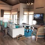 Villa, 3 habitaciones, para no fumadores - Sala de estar