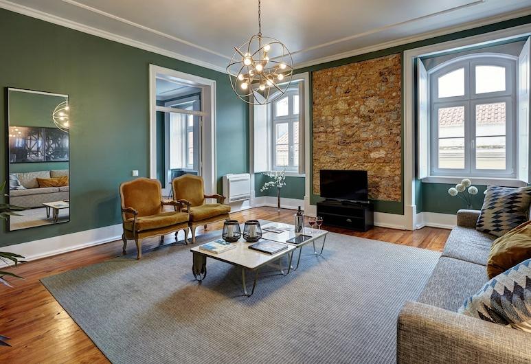 Lisbon Canaan Boutique Apartments Gaivotas, Λισσαβώνα, Premium Διαμέρισμα, 2 Υπνοδωμάτια, Καθιστικό
