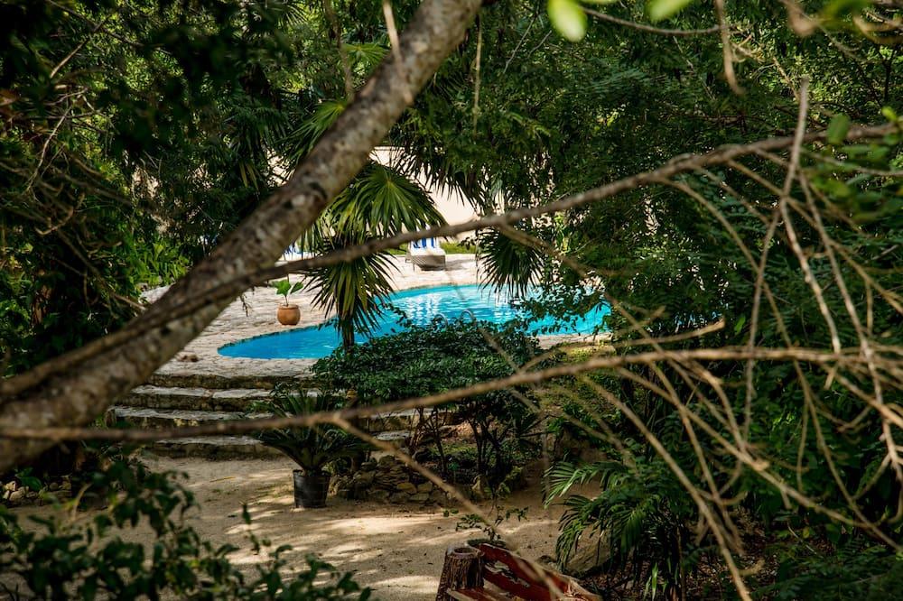 Вілла «Делюкс», 4 спальні, для некурців, з видом на сад - Краєвид з номера