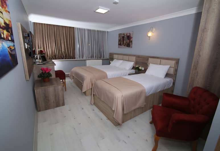 Kocatepe Hotel, Ankara, Standard Triple Room, 3 Twin Beds, Accessible, City View, Guest Room
