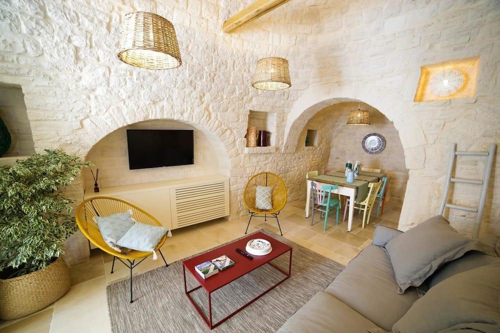 Trullo, 2 Bedrooms, Courtyard View - Περιοχή καθιστικού