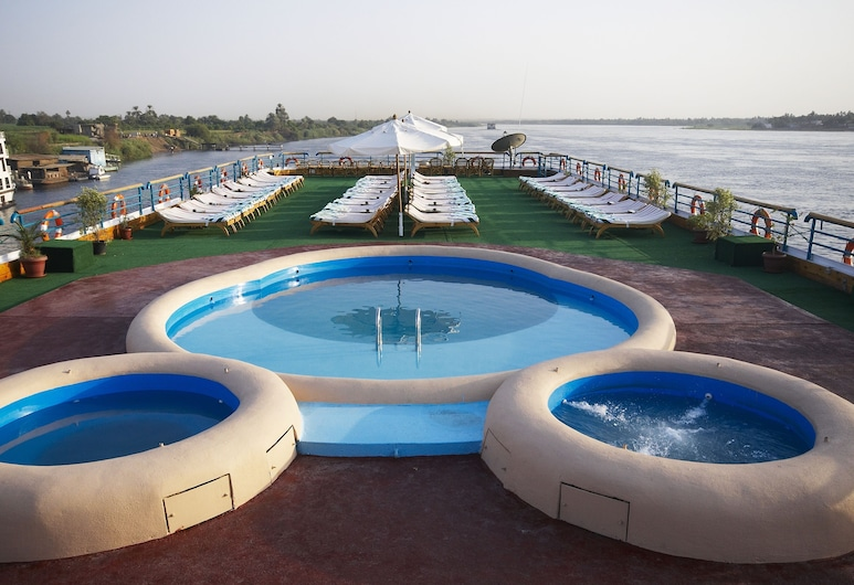 Nile Carnival Cruise - Every Monday from Aswan - Every Thursday from Luxor, Luxor, Outdoor Pool