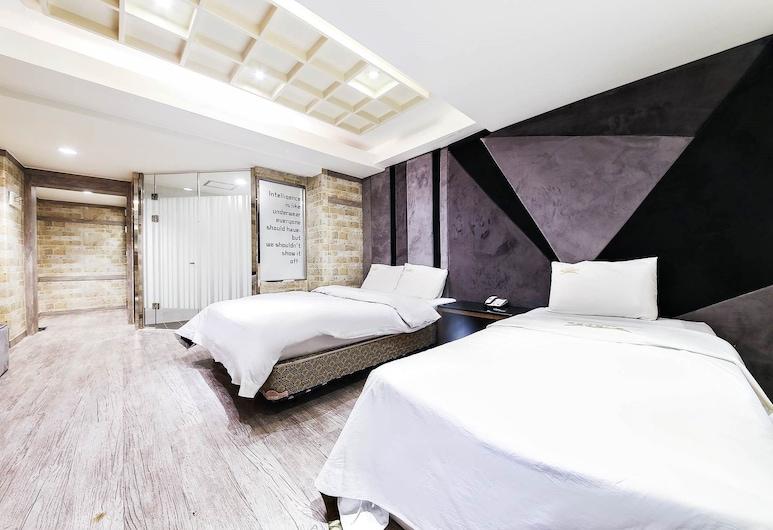 Bundang Regency Hotel, Seongnam, Quarto Twin Deluxe, Quarto
