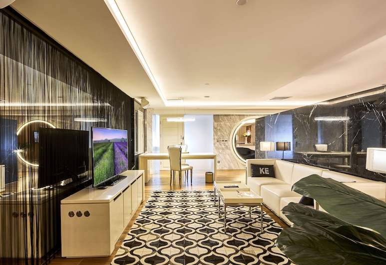 KE Hotel International Convention and Exhibition Center Shenzhen, Shenzhen, Deluxe Concept King Bed Room, Guest Room