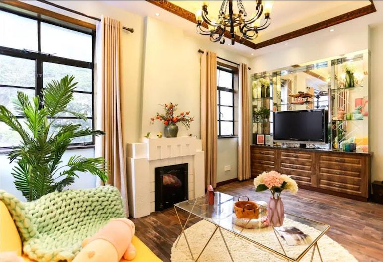 上海指間砂洋房長樂路 5 店, 上海市, 豪華一居室, 客廳