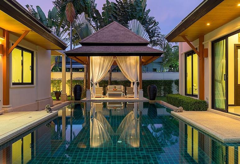 克蕾爾別墅飯店, 拉威, 3-Bedroom Pool Villa, 私人游泳池