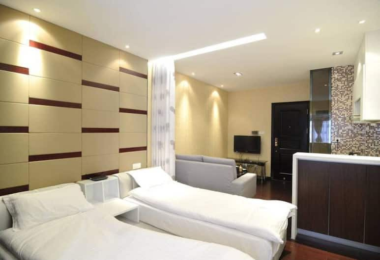 Guangzhou Lavender Apartment, Guangzhou, Deluxe Twin Room, Bilik