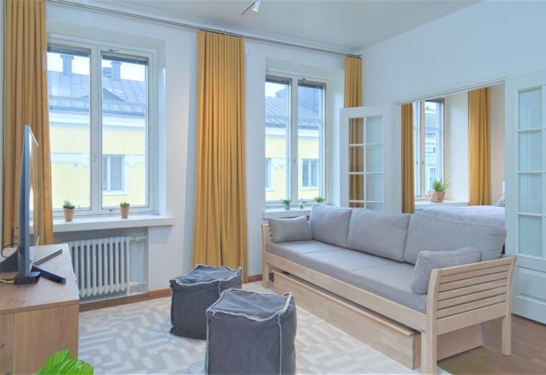 Aurora Guest Apartments Eerikinkatu, Helsinki, Appartement, 1 slaapkamer, Kamer