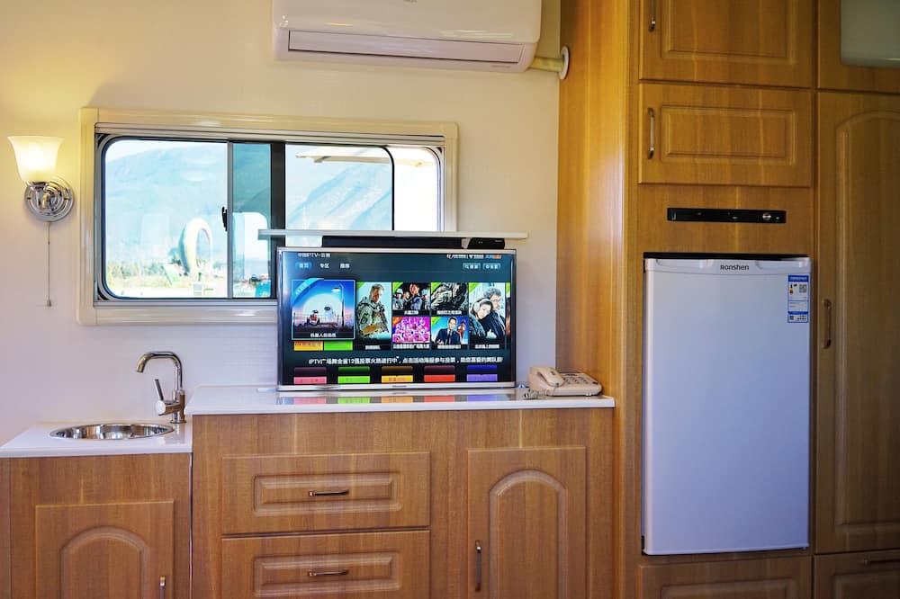Comfort vierpersoonskamer - Minikoelkast
