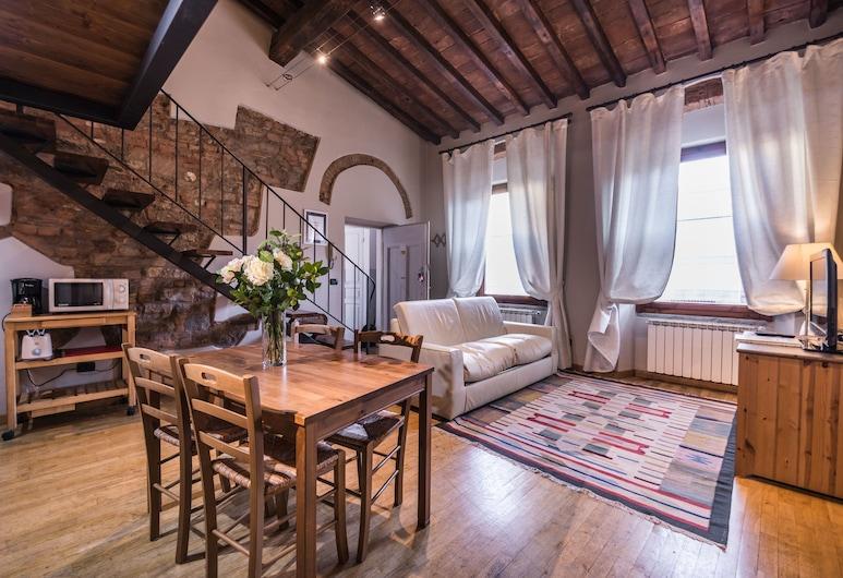 A Few Steps to The Duomo Perfect 1BD Apt, Florencija, Apartamentai, 1 miegamasis, Svetainė