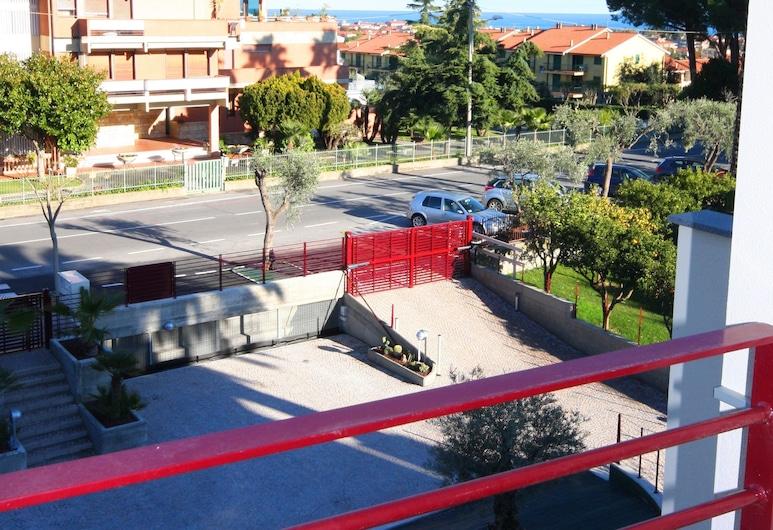 Appartamento Belsoggiorno, Diano Castello, Studiolejlighed - balkon, Altan