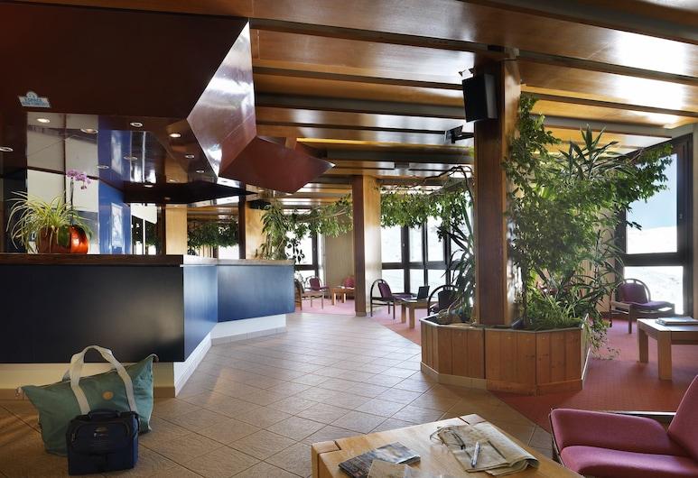 Tourotel de Val Thorens, Les Belleville, Zitruimte lobby