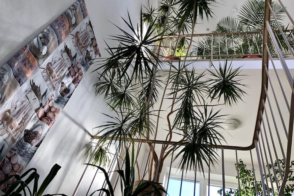 Vstupní prostor zevnitř