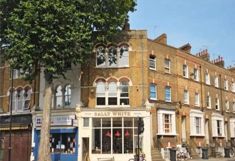 中央寬敞複合式公寓酒店, 倫敦, 住宿正面