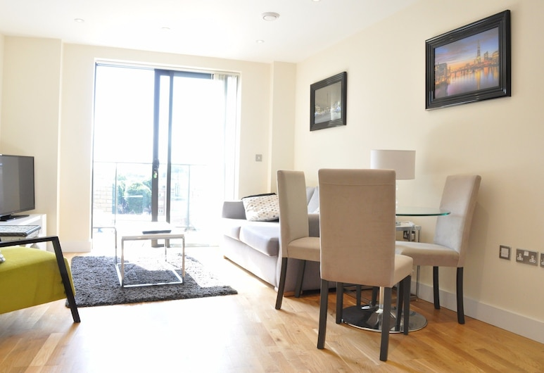 Modern 1 Bedroom Property in South East London, London, Oppholdsområde