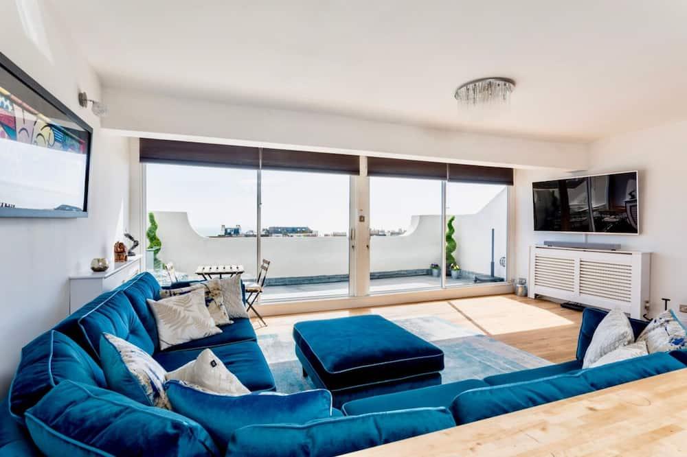 Apartman (3 Bedrooms) - Dnevna soba