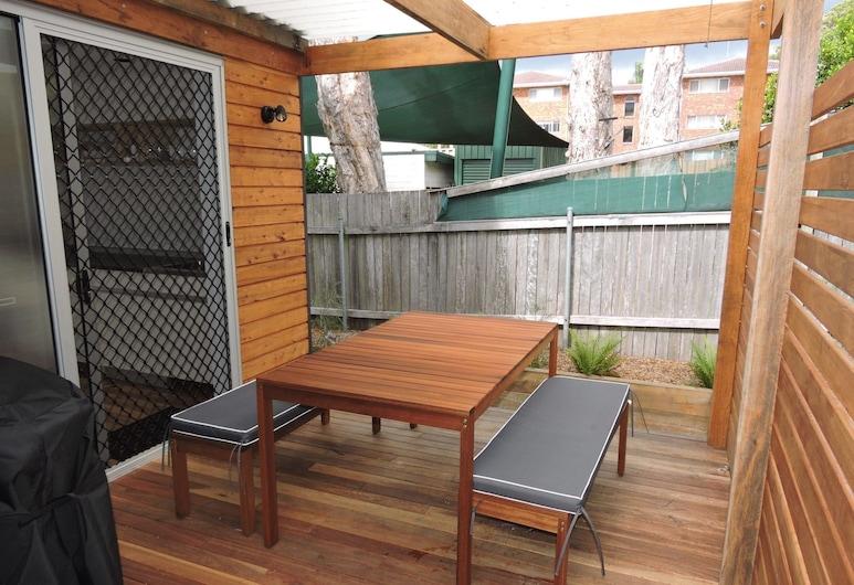 Pacific Townhouse 16 @ Crescent Head, Crescent Head, Casa, 1 habitación, Terraza o patio