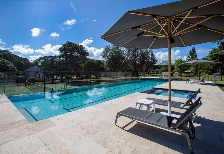 Rancho Relaxo - Lotus House, Crescent Head, Outdoor Pool