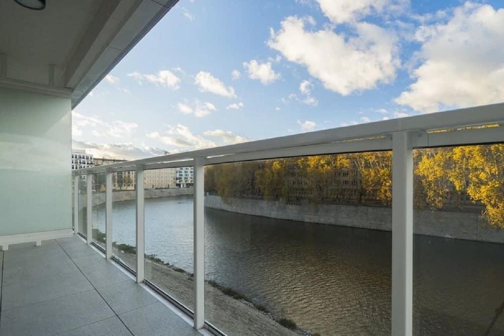 Apartemen, pemandangan sungai - Balkon
