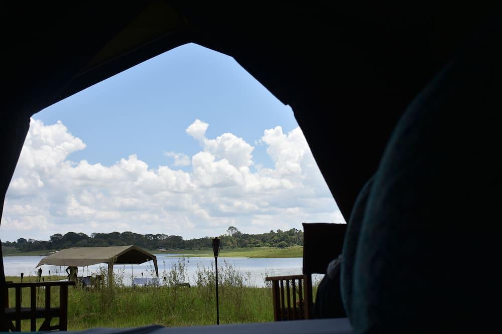 Эксклюзивная палатка, 3 односпальные кровати, для некурящих - Вид на воду