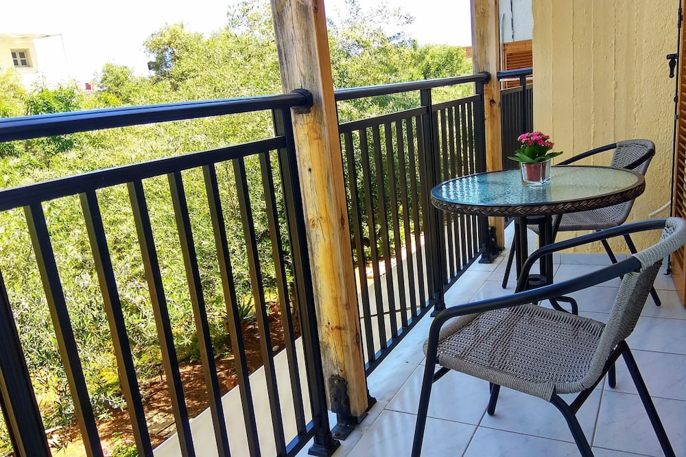 Studio - utsikt mot trädgården - Balkong