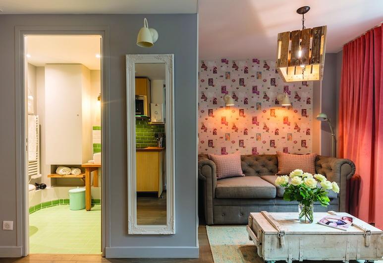 Be You Luxury Apart'Hotel La Rêveuse, Paris, Apartment, 1 Bedroom, Living Area