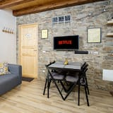 Design Duplex, 1 Bedroom, Garden View (il Sole) - Living Room
