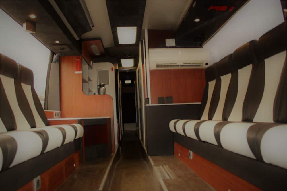 Общее спальное помещение «Делюкс», Несколько кроватей, для некурящих, вид на сад - VIP-лаунж