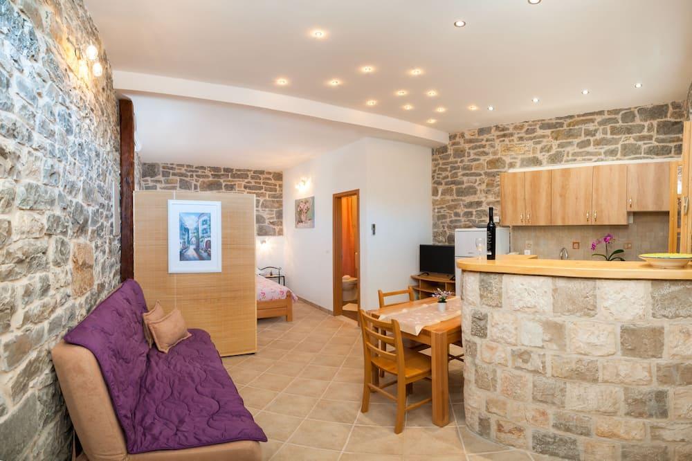 Apartment Podspiline Konoba - Sala de estar