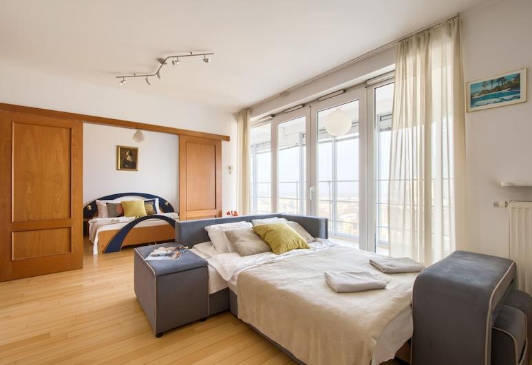 P&O Apartments Babka Tower, Varsova, Economy-huoneisto, Vierashuone