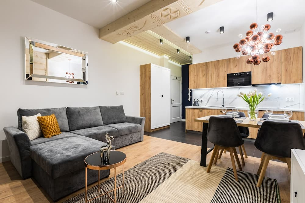 Апартаменти «Делюкс», 1 спальня, для некурців - Вітальня