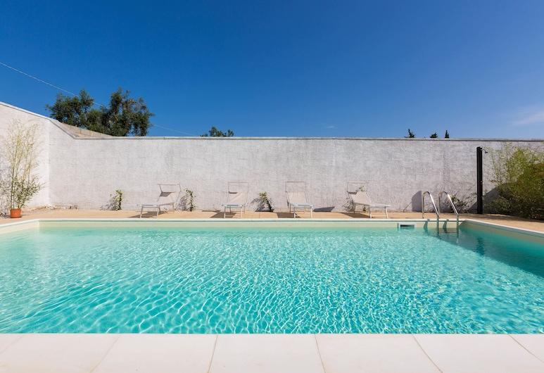 Villa Chiaraluna, Novoli, Comfort-Villa, 4Schlafzimmer, Außenpool