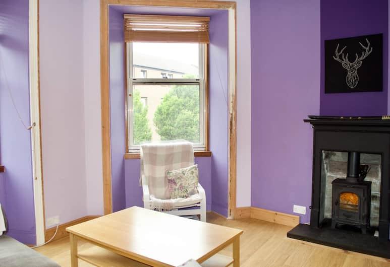 Cosy Two Bedroom Flat In Polwarth, Edinburgh, Woonruimte