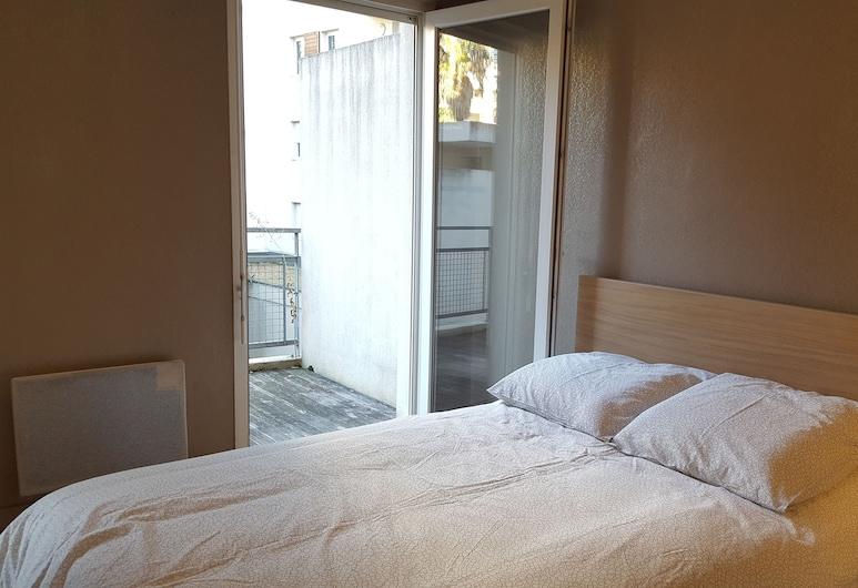 Grand T2 Montpellier-Port Marianne, Montpellier, Appartement, Chambre