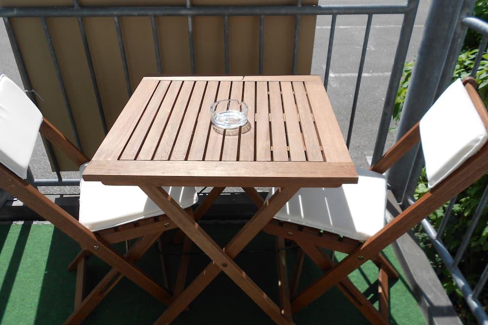 Studio, 1 Katil Kelamin (Double) dengan Katil Sofa, Balcony (incl. EUR 25 cleaning fee) - Balkoni