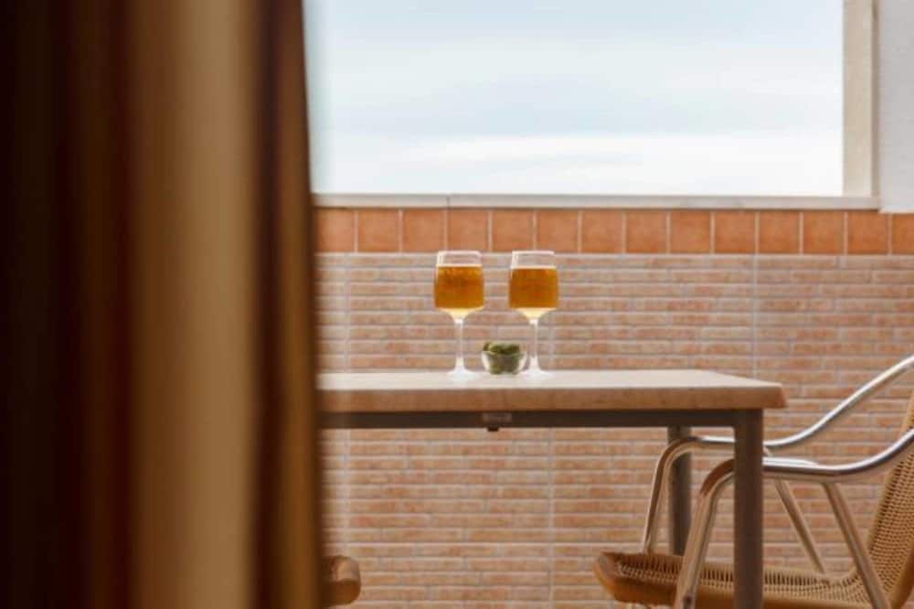 Doppel- oder Zweibettzimmer (New Area) - Balkon