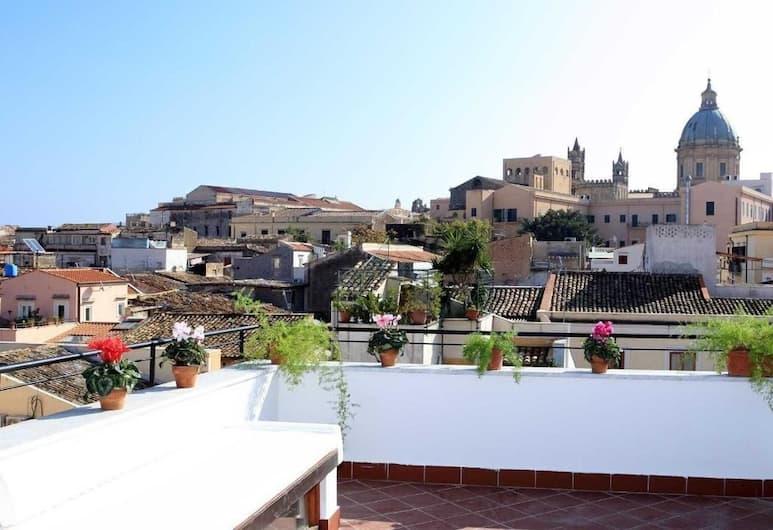 Casa Vacanze Papyri, Palermo, Apart Daire, 2 Yatak Odası, Teras (Il Capo), Teras/Veranda