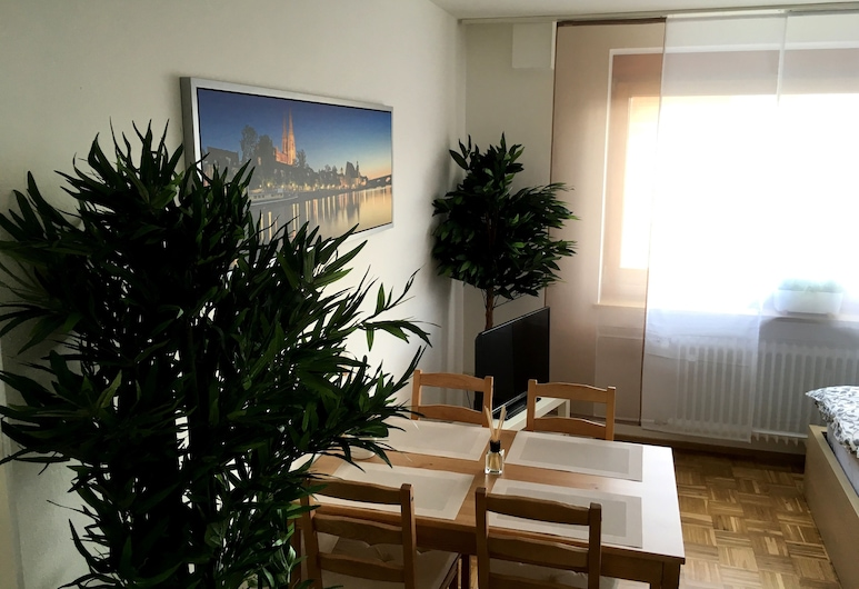 Arcaden, Regensburg, Studio, 1 Double Bed with Sofa bed (incl. EUR 25 cleaning fee), Living Area