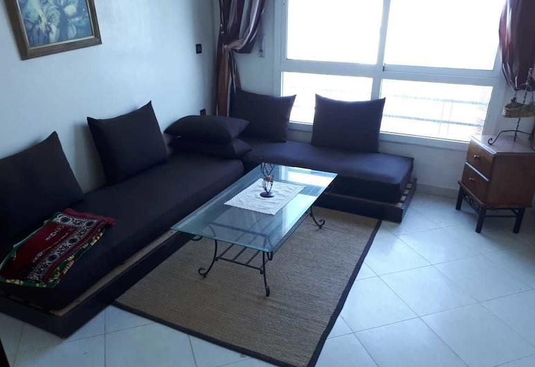 Apartment For Holidays In Tangier, Tánger, Departamento, 2 habitaciones, Sala de estar